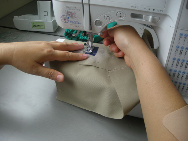 Sewing in English and Japanese