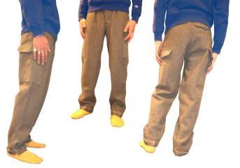 Men's Trousers with various Pockets 24.000