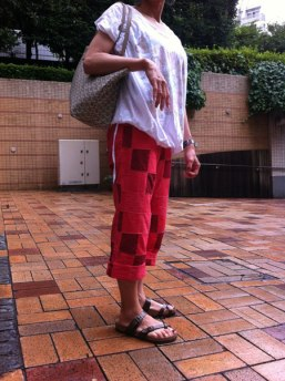 Red-Summer-Pants
