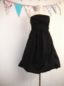 Cotton Corset Balloon Dress
