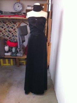 Black Silk Dress 35.000