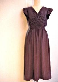 Purple Jersey Summer Dress
