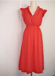 Red Jersey Summer Dress 22.000