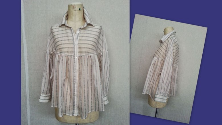 Striped-Blouse