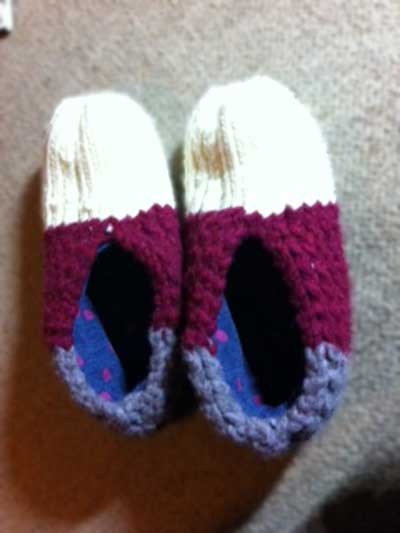 Knitted-Wintershoes