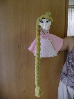 Rapunzel with long hair