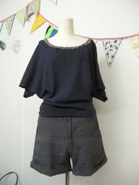 Shorts with front zipper and pockets 18.000