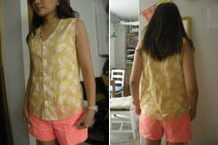 No-sleeve-Blouse