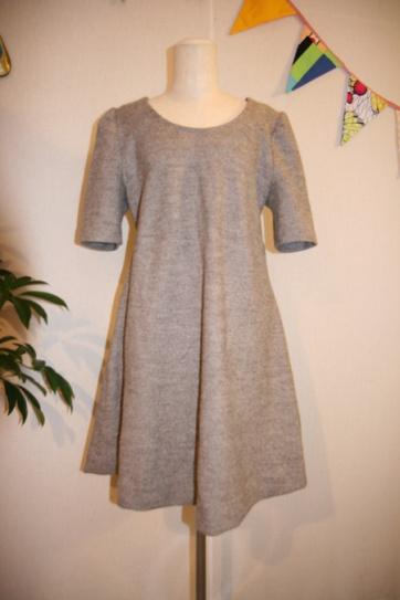 Wool Mini Winter Dress 18.000