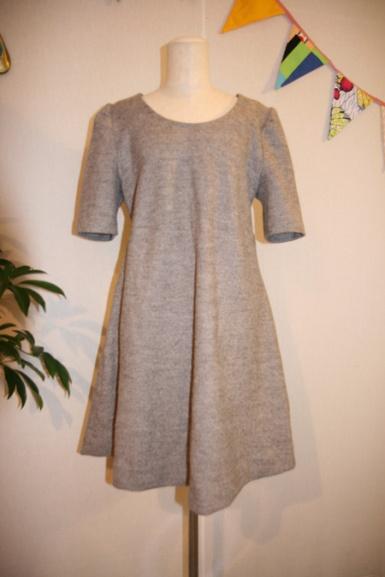 Wool Mini Winter Dress