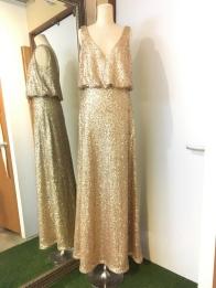Golden Sequences Dress