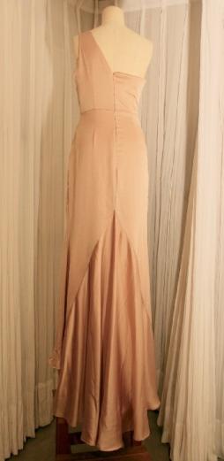 Rose Silk Dress