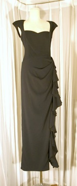 Dress with Draping