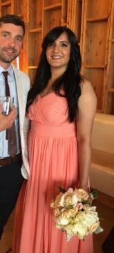 Bridesmaid Dress Altered