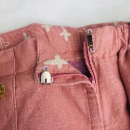 Side Zipper with Hook