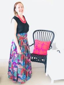 Flower Skirt Side