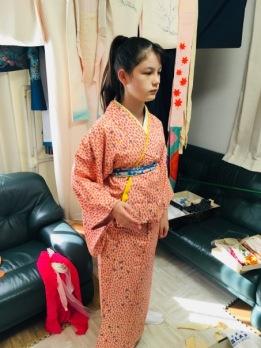 Dressing the Kimono